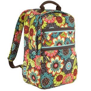 NWT Vera Bradley Tech Backpack Flower Shower